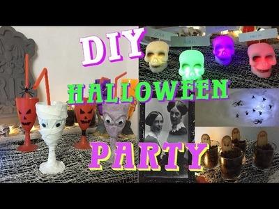 DIY Halloween party : snacks + décorations + activités