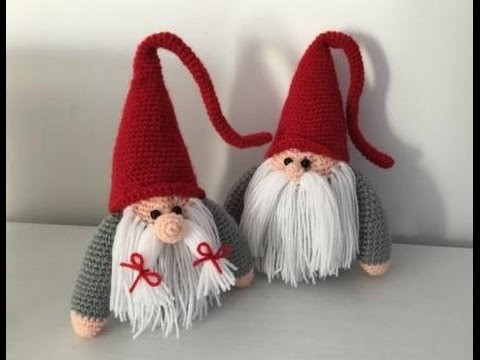 gnome de no l amigurumi crochet papa christmas gnome. Black Bedroom Furniture Sets. Home Design Ideas