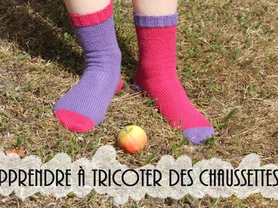 {Tricot} Cours de chaussettes #1 (en collaboration avec Alice Hammer)