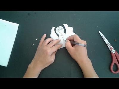 Noël  Ange d'Amour   TAP  Bricolage facile enfant   DIY