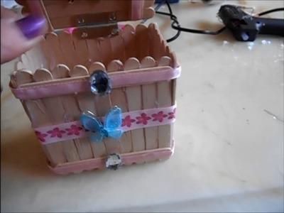 Diy : boîte à secrets pour la fête des mères
