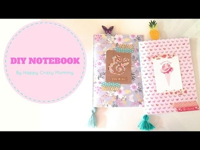 DIY CARNET DE NOTES - NOTEBOOK
