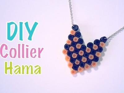 DIY Collier Sautoir avec Perles à repasser Hama