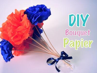 DIY Fête des mères Bouquet de fleurs en Papier