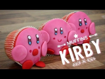 RECETTE MUFFINS KIRBY - DIY KIRBY CAKE