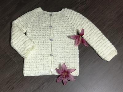 Brassière crochet style Chanel 1.2. Crochet cardigan Chanel style 1st part (english subtitles)