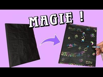DIY | cahier magique