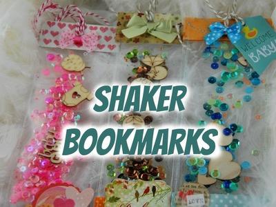 DIY Shaker bookmarks ~ Marque-pages à secouer! ~ La papeterie de Stéphanie