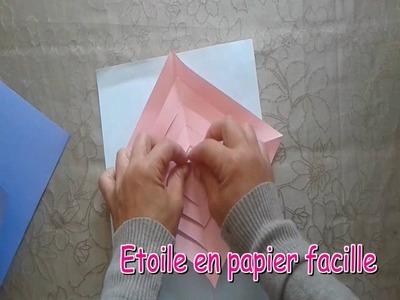 Noël  Etoile en papier 3D  TAP    Bricolage facile enfant   DIY