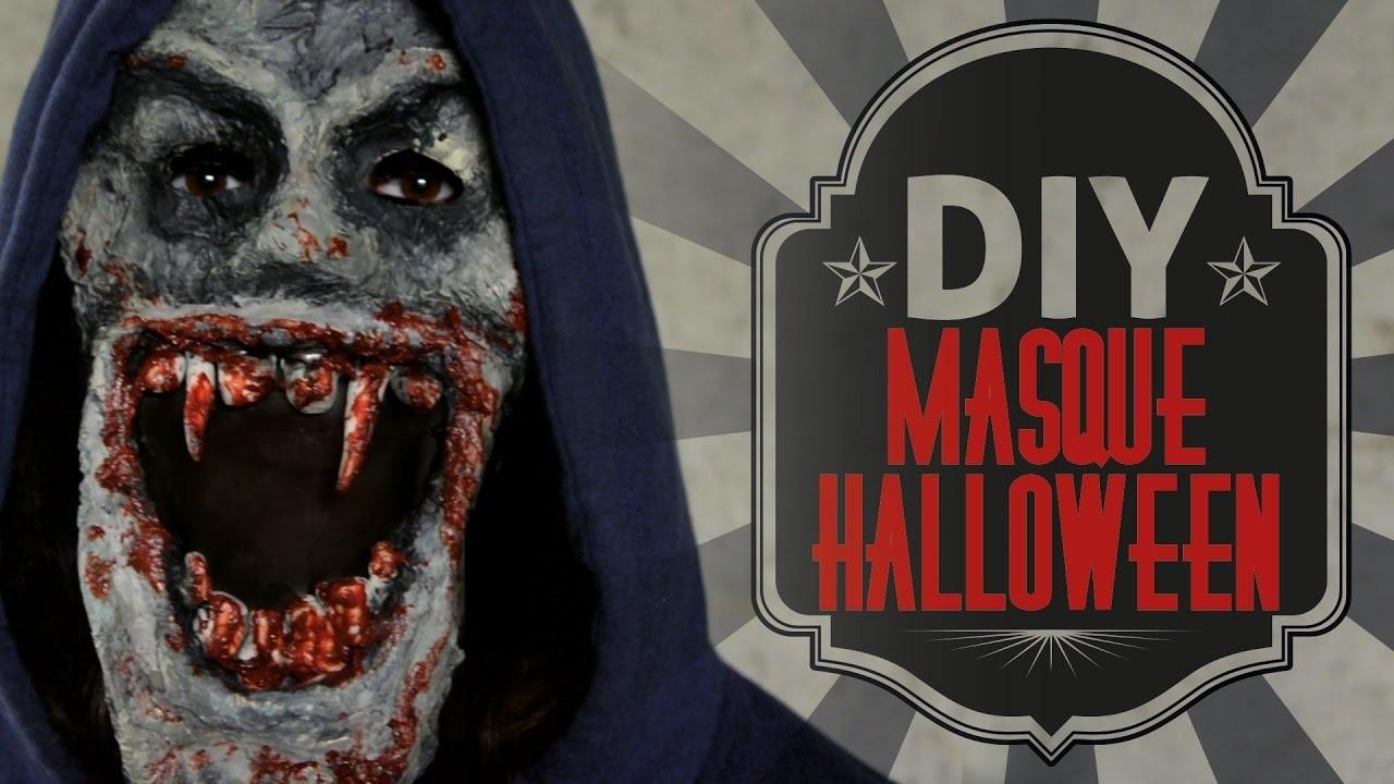 DIY d'halloween : Un masque de vampire zombie