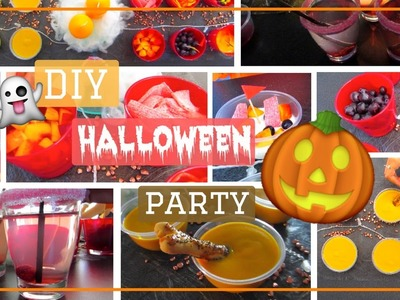 DIY Halloween Party! Food & décor 2016