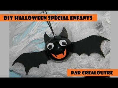 DIY Halloween spécial enfants : la chauve souris