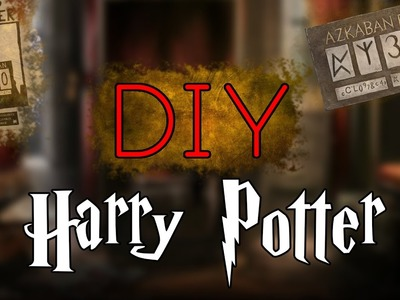 DIY HARRY POTTER FACILE (FAIL). EASY HARRY POTTER DIY l HD HPTS