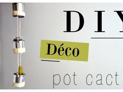 DIY. Pots à cactus [DECO rapide]