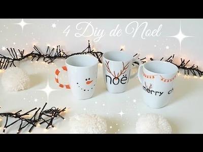 4 DIY de Noël 2016 Déco & Accessoires. 4 christmas diy
