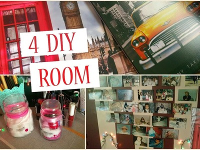 DIY Décoration : Rangements - Tableaux - Coussins ♡ تزيين غرفتك بأقل ثمن