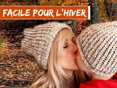 DIY I REALISER UN BONNET POUR L'HIVER AVEC LE TRICOTIN DE CHEZ ACTION I HYPER FACILE ET RAPIDE I Jen