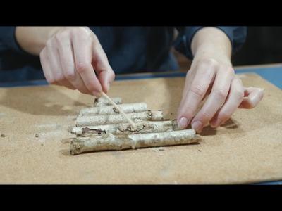 DIY : Sapin en bois