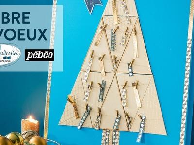 Tuto DIY : Arbre de Noël à souhaits - Noël Nordic