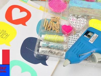 DIY Achats Tchibo   Achats pour 10€   Papier & Carton, Cadeau, Kit Emballages & Pistolet à colle