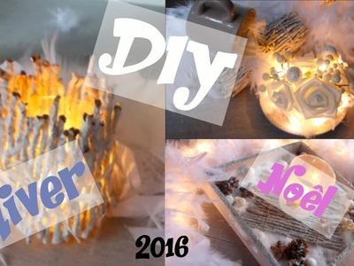 DIY Déco d'Hiver ♡ Cadeaux de Noël