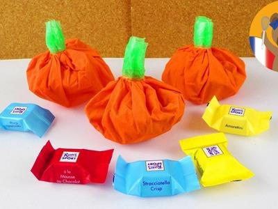 DIY Paquet cadeau pour Halloween | Mini citrouilles à faire soi-même