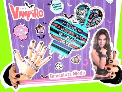 Chica Vampiro mes bracelets charms DIY demo jouets