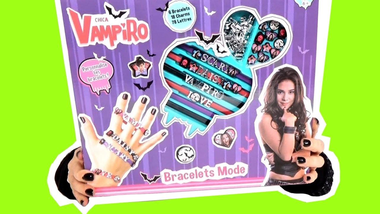 Chica Vampiro mes bracelets charms DIY demo jouets