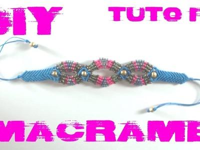 DIY -  Tuto Bracelet en Macramé