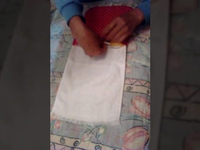 Necessaire.toalhinha - Artesanal | Let.Art - Artesanato
