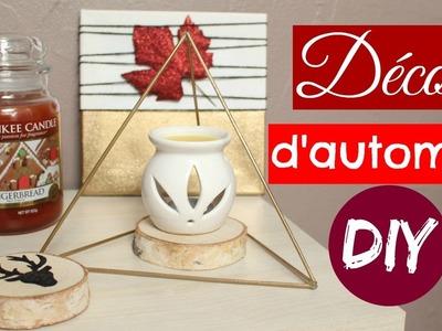 DIY DECORATIONS D'AUTOMNE INSPIRE PAR PINTEREST : Décoration géométrique, Dessous de verre Cerf.