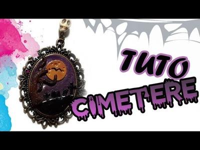 TUTO FIMO HALLOWEEN: CIMETIÈRE | PolymerClay Tutorial graveyard