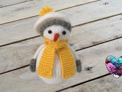 Bonhomme de neige tricot 1.2. Knitting Snowman 1.2 (english subtitles)