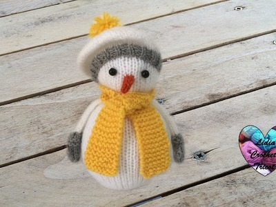 Bonhomme de neige tricot 2.2. Knitting Snowman 2.2 (english subtitles)
