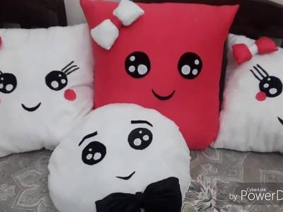 Comment faire un coussin sois meme . DIY pillow
