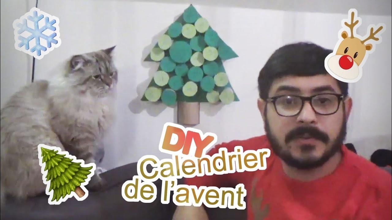 DIY - Calendrier de l'avent (pour chat ou humain) [Crêpe au Citron]