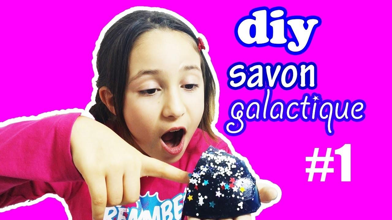 DIY.SAVON GALACTIQUE!COMMENT FAIRE, GALAXY SOAP TUTO!