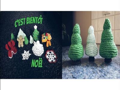 ♫♪ J'avais envie de … Noël au crochet #1 Le sapin ♫♪