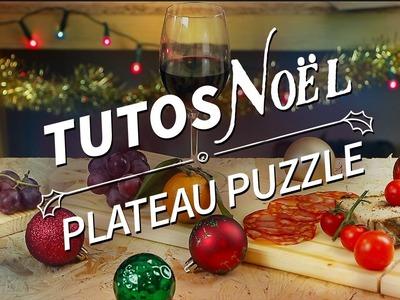 Le plateau puzzle - Un cadeau de Noël DIY - Tuto de Noël [ManoMano FR]