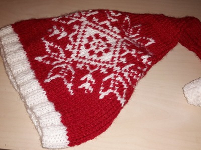 Tutoriel: Bonnet Noël, ou lutin facile