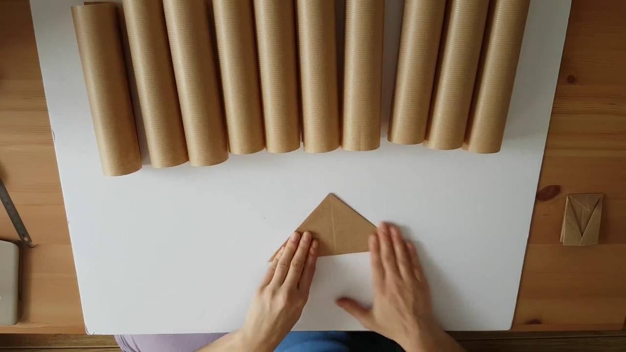 diy calendrier de lavent sachets en origami. Black Bedroom Furniture Sets. Home Design Ideas