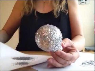 DIY déco noël comment créer ses boules de noël pour décorer son sapin