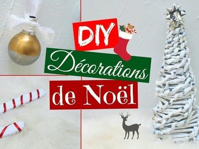 DIY DECORATIONS DE NOEL : Sapin de Noël, Boule de Noël et sucre d'orge w. VintageIsBack