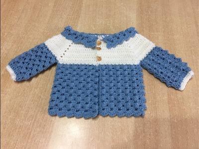 Tuto veste au crochet spécial gaucher
