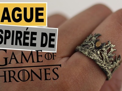 Bague, Couronne de Tommen Game Of Thrones⎪Tommen's Crown GOT