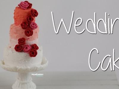 Gâteau de mariage. Wedding cake