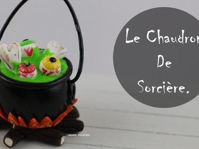 Halloween: Chaudron De Sorcière (Pâte Polymère).