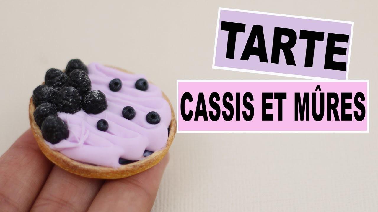 Tarte Cassis et Mûres⎪Fimo et Cernit