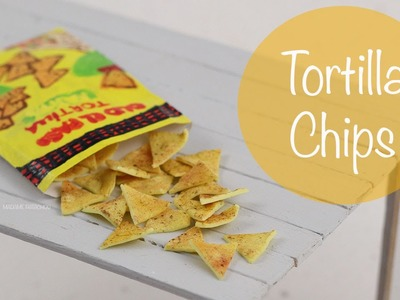 Tortilla Chips (pâte polymère)