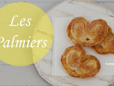 Tuto: Biscuits Palmiers